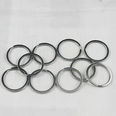 10pc Scuba Diving 32mm Stainless Steel Split Ring for BCD attachment