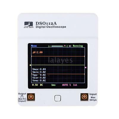 DSO112A Mini Handheld Digital Storage Oscilloscope TFT Touch Screen 2MHz T9D7