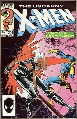 Uncanny X-Men #201 - VF - 1st Cable (Baby Nathan)