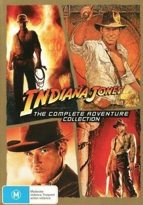 Indiana Jones - The Complete Adventure Collection DVD R4 Brand New!