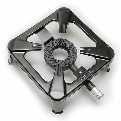 7Kw Cast Iron Gas Cooker Single Burner Stove Lpg/propane Boiling Ring Camping