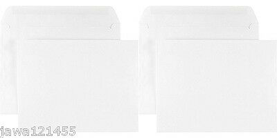 C5 White Envelopes 150GSM for A5 Invitation Cards Thick Special White Envelope