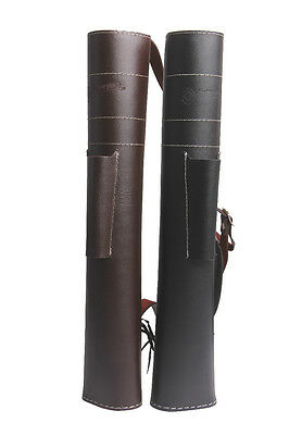 ArcheryMax NEW TRADITIONAL LEATHER BACK ARROW QUIVER HAND MADE ARCHERY PRODUCTS