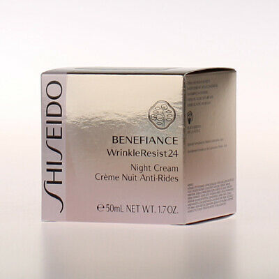 Shiseido Benefiance WrinkleResist24 ★ Night Cream 50ml NEU&OVP