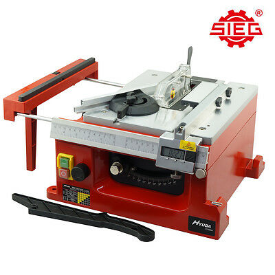 SIEG Woodworking Mini Precision Table Saw 200W Variable Speed Digital Readout
