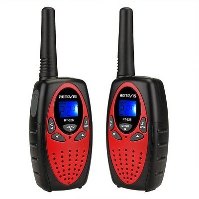 Retevis RT628 Paired Walkie Talkie UHF 22CH Protable Two-Way Radio Kids Gift B2C