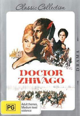 Doctor Dr Zhivago (1965) DVD R4 Brand New!