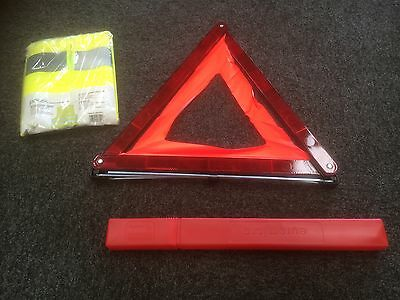 Peugeot Citroen Warning Triangle And High Vis Reflective Vest 964835
