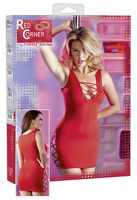 Sexy Minikleid. »Red Corner« Rot. NEU!!! %SALE%