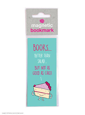 Brainbox Candy Not As Good As Cake magnetic bookmark funny novelty cheap gift