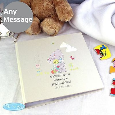 Me to You Personalised Babys Photo Album With Sleeves Memento - Tiny Tatty Teddy