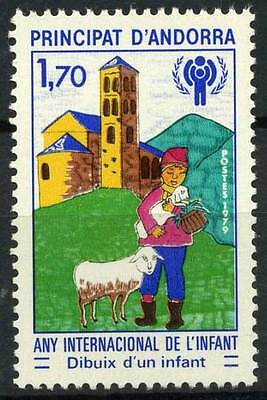 16-01-01610 - French Andorra 1979 Mi.  300 MNH 100% Inter. Year of the Child