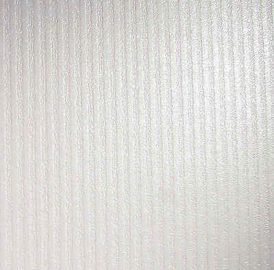 10 X A4 Card Dandy Bright White Pearlescent Textured Colonnade Stripes 300Gsm