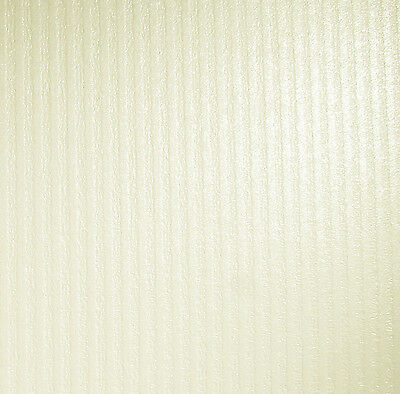 10 X A4 Card Ivory (Cotton White) Pearlescent Textured Colonnade Stripes 300Gsm