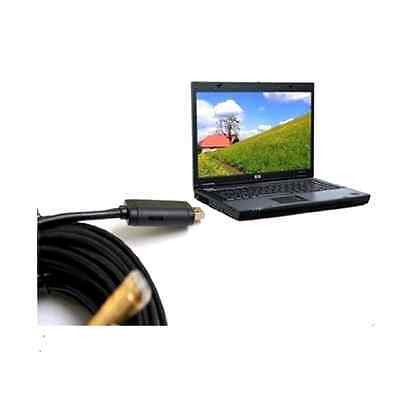 Drain Pipe Camera DIY Plumbing USB Inspection Endoscope Video Home Sewer Snake
