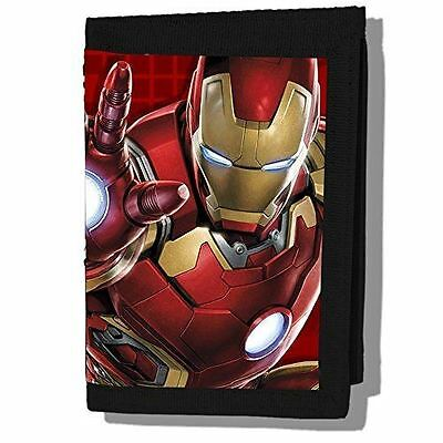 Age of Ultron -Iron Man Velcro Wallet