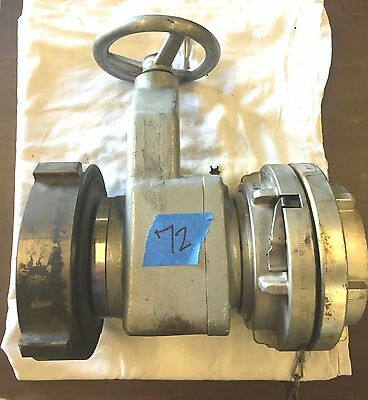 "6"" NST to 5"" Storz Gate Valve Fire Department Hose Fitting"