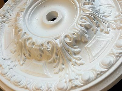 """50cm Ceiling Rose """"WIND"""" Polystyrene Easy Fit Very Light Weight"""