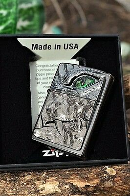 Zippo Lighter - Crocodile Eye - European Release - Limited Numbered Edition
