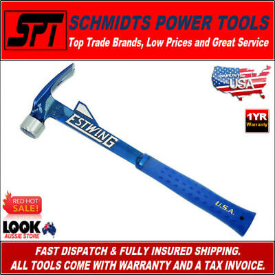 ESTWING E6-24TM HAMMER TOOTH 24oz STRAIGHT RIP CLAW HAMMER CARPENTERS FRAMING