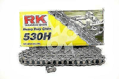 RK Chains 530 x 120 Links Heavy Duty Standard Series non-Oring Natural Chain