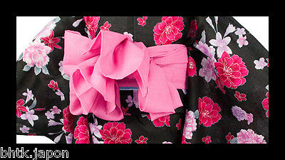 兵児帯 HEKO OBI japonais - ROSE - ceinture japonaise souple - Import direct Japon
