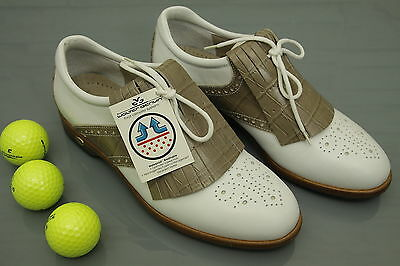 Damen Golfschuhe WALTER GENUIN NEU womans golf shoes eUVP: 279€ ü063
