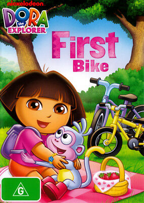 Dora The Explorer - First Bike DVD R4 Brand New!