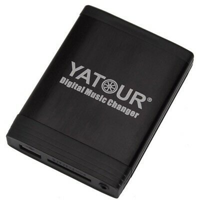New Yatour Music Changer USB CD MP3 Interface 3.5mm audio For Toyota Car Auto