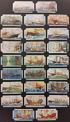 Card Collectors Society Full Repro Set of 50  Wills  Celebrated Ships