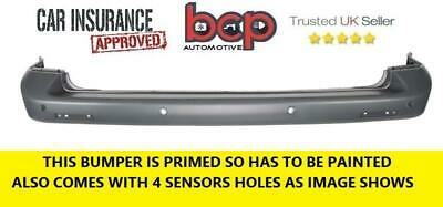Volkswagen Transporter 2004 -2012 T5 Rear Bumper Primed With Sensors Brand New