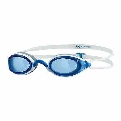034361 SPORTS DEAL Zoggs Fusion Air Adult Swimming Goggles - White/Blue