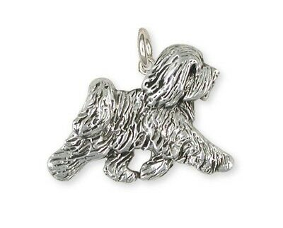 Sterling Silver Tibetan Terrier Charms Jewelry  TTR-C