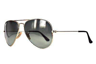 Ray Ban Sonnenbrille / Sunglasses RB3025 AVIATOR LARGE METAL 181/71 58 m.Etui# *