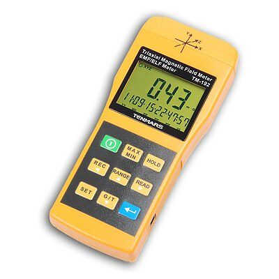 TM-192 Gaussmeter 3-Axis EMF ELF Magnetic Field Gauss Meter Taiwan 30 - 2000Hz