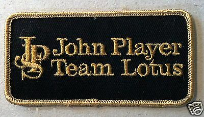 Vintage Sew-on Patch John Player Special Team Lotus