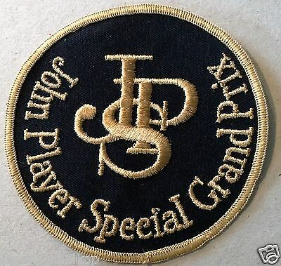 Vintage Sew-on Patch John Player Special Grand Prix, BIG!