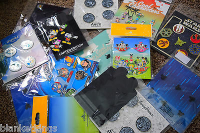 ☀️DISNEY TRADING PINS ~ 25 Pin Lot ~ BRAND NEW SETS BOOSTER PACKS SEALED