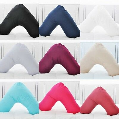 Luxury V Shaped Orthopaedic Neck Support Pillows Maternity Pregnancy Pillow case