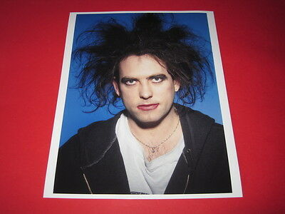 THE CURE / ROBERT SMITH  10x8 inch lab-printed glossy photo P/5088
