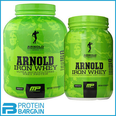Arnold Series Iron Whey 100% Whey Protein 2.27kg / 908g All Flavours