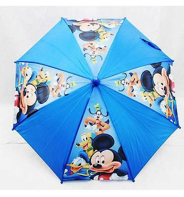 NWT Disney Micky Mouse Umbrella Offically Licensed by Disney- Blue Style