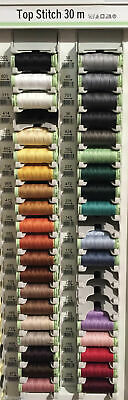 Gutermann Top Stitch Sewing Thread Extra Strong 30m - Jeans - 1 Reel, 5 Reels
