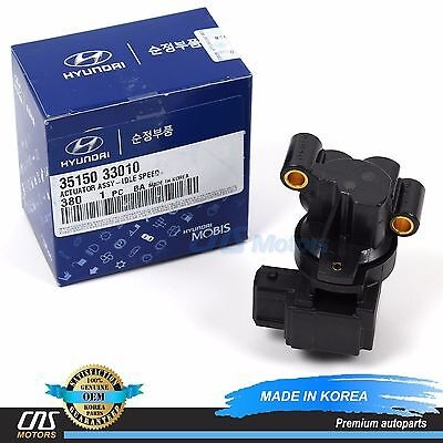 GENUINE Idle Speed Control Fits 99-10 Hyundai Kia 2.4L 2.5L 2.7L OEM 3515033010