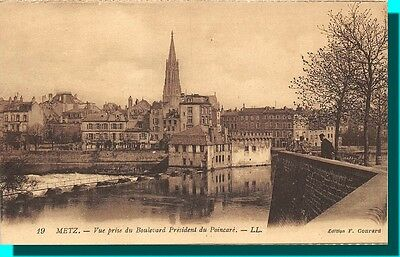 METZ - view taken of / the Boulevard President of / the Poincaré