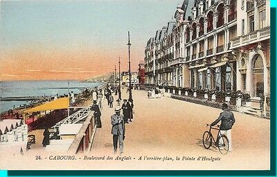 CPA- CABOURG Boulevard of english