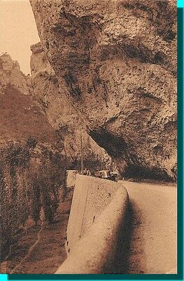CPA- Gorges of / The Tarn - the rocks in corbel to circus of beaumes