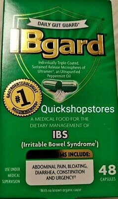 IBgard Dietary Management of Irritable Bowel Syndrome 48 Capsules