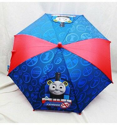 "NWT Thomas the Tank Engine Umbrella (20"" folded 32"" Open) Sunny or Rainy Day Red"