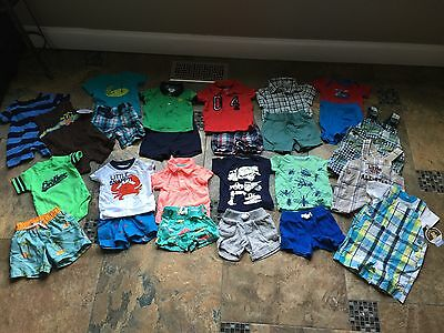 Lot Of Boys Summer Clothes-size 3 Months